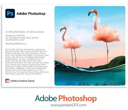 دانلود نرم افزار ادوبی فتوشاپ 2021 - Adobe Photoshop 2021 v22.0.0.35 x64