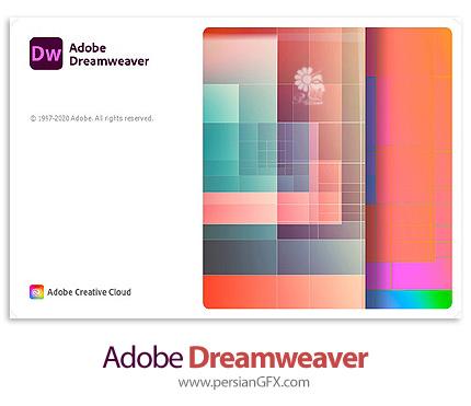 دانلود نرم افزار ادوبی دریم ویور 2021 - Adobe Dreamweaver 2021 v21.0.0.15392 x64