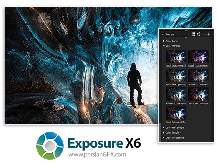 دانلود نرم افزار ویرایش حرفه ای و خلاقانه عکس های دیجیتال - Exposure Software Exposure X6 v6.0.1.100 x64