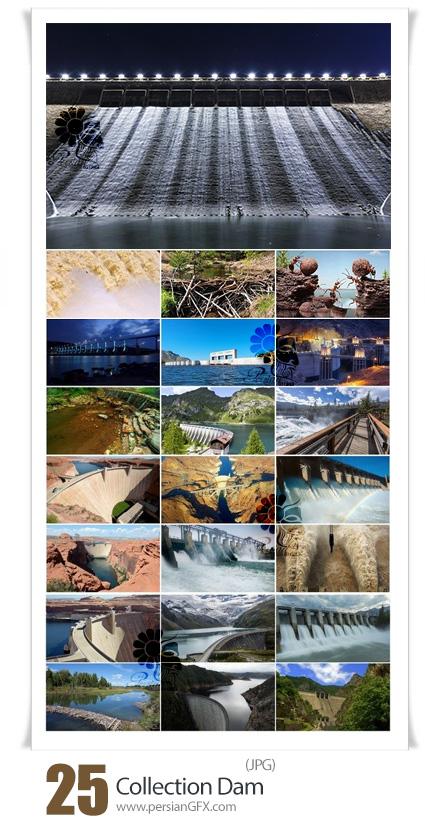دانلود 25 عکس با کیفیت سدهای آب متنوع - Collection Dam