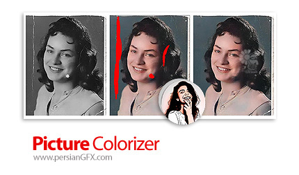 دانلود نرم افزار رنگ آمیزی و ترمیم عکس های سیاه و سفید و قدیمی - Picture Colorizer Pro v2.3.0 DC 21.12.2020