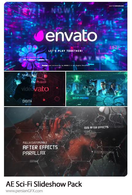 دانلود 4 پروژه افترافکت اسلایدشو علمی تخیلی - Sci-Fi Slideshow Pack