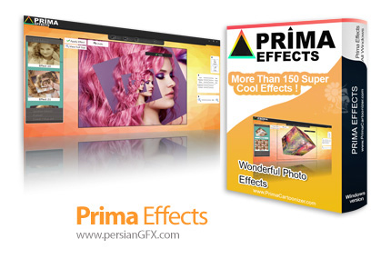 دانلود نرم افزار ارائه افکت های هنری متنوع - Prima Effects v1.0.1