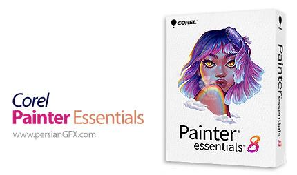 دانلود نرم افزار ایجاد نقاشی از عکس - Corel Painter Essentials v8.0.0.148 x64