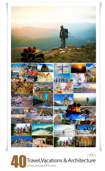 دانلود 40 عکس با کیفیت سفر، تعطیلات ، بناهای معماری و استراحتگاه ها - Travel, Vacations, Monuments Of Architecture