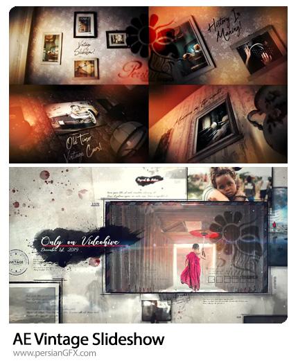 دانلود 2 پروژه افترافکت اسلایدشو وینتیج - Vintage Slideshow