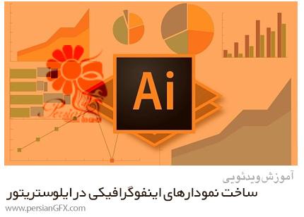 دانلود آموزش ساخت نمودارهای اینفوگرافیکی در ادوبی ایلوستریتور - Create Infographic Charts