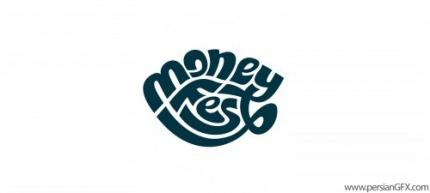 40 لوگو تایپوگرافی جذاب و زیبا با طراحی های هنرمندانه و منحصر به ...لوگوی MoneyFest