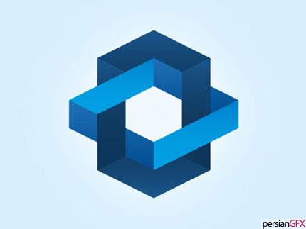 خلق لوگوهای شگفت انگیز با طرح های فضایی و سه بعدی   PersianGFX ...لوگوی معماری