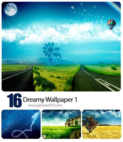 مجموعه تصاویر پس زمینه رویایی شماره یک - Dreamy Wallpaper 01