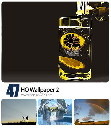 47 پس زمینه جذاب شماره دو - HQ Wallpapers 02