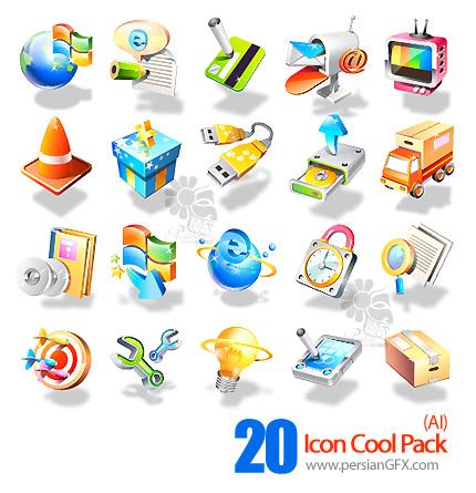 آیکون های فانتزی - Icon Cool Pack