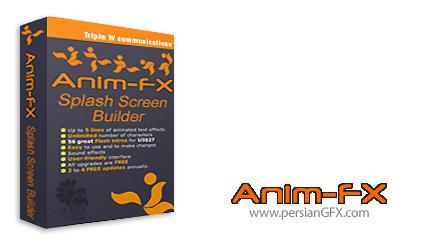 دانلود نرم افزار ساخت بنر و هدر های فلش - Anim-FX 3.5