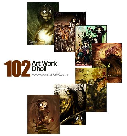 مجموعه آثار هنری، تصویر سازی- Art Work Dholl