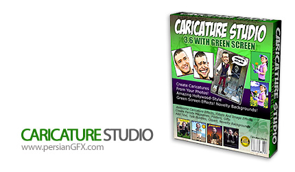 دانلود نرم افزار طراحی کاریکاتورهای جالب و ترکیب تصاویر - Caricature Studio 6.6.12.526