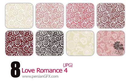 مجموعه پترن های رمانتیک شماره چهار  - Love Romance 04