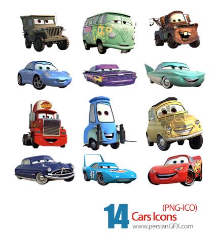 آیکون های ماشین -   Cars Icon