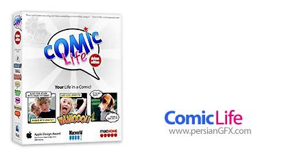دانلود نرم افزار ساخت کمیک استریپ - Comic Life v3.0.5