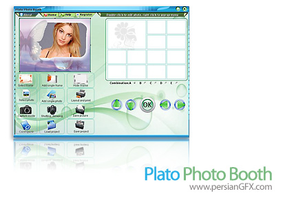 ویراش تصاویر دیجیتالی Plato Photo Booth 11.05.02