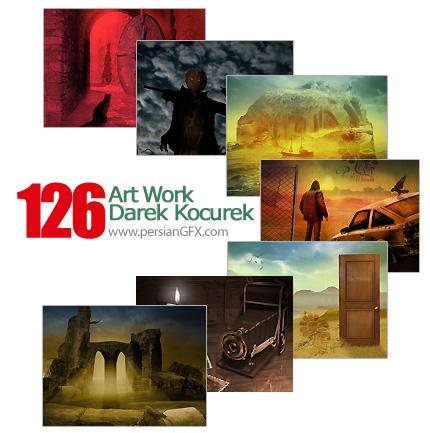 مجموعه آثار هنری، نقاشی - Art Work  Darek Kocurek