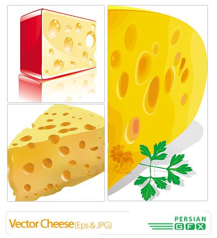 دانلود وکتور پنیر - Vector Cheese