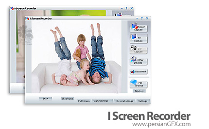 تصویر برداری از صفحه نمایش I Screen Recorder 8.0.0.2130