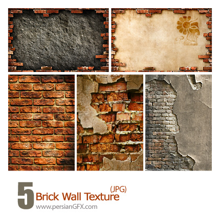 دانلود بافت دیوار، ترک دیوار - Brick Wall Texture