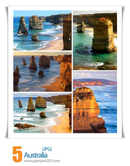 دانلود تصاویر استرالیا، ساحل، صخره - Australia