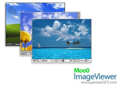 مشاهده تصاویر با Moo0 ImageViewer SP 1.69 Multilingual