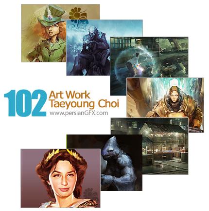 مجموعه آثار هنری، نقاشی دیجیتال - Art Work Taeyoung Choi