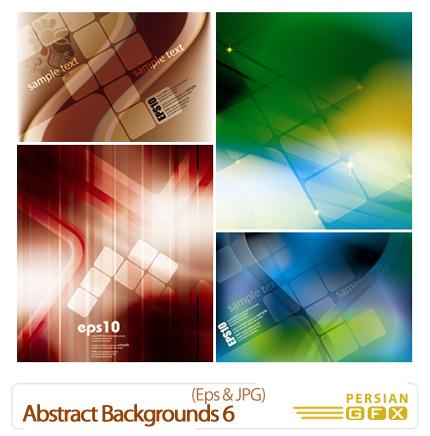 دانلود وکتور بک گراند - Abstract Backgrounds 06