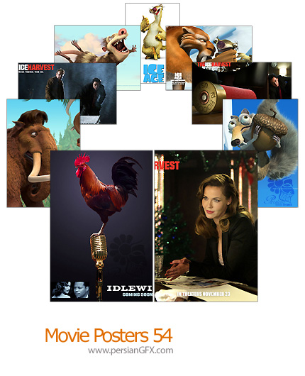 15 پوستر فیلم شماره پنجاه و چهار - Movie Posters 54
