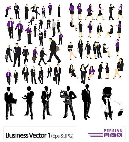 دانلود وکتور تجاری - Business Vector 01
