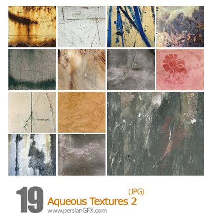 دانلود بافت متنوع - Aqueous Textures 02
