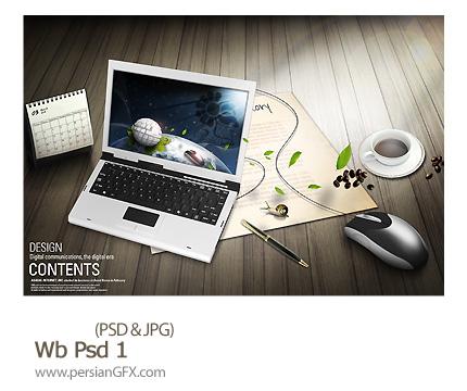 دانلود تصاویر لایه وب - Wb Psd 01
