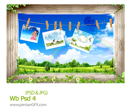 دانلود تصاویر لایه وب - Wb Psd 04