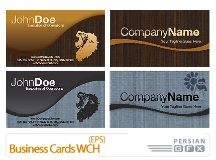دانلود کارت ویزیت - Business Cards WCH