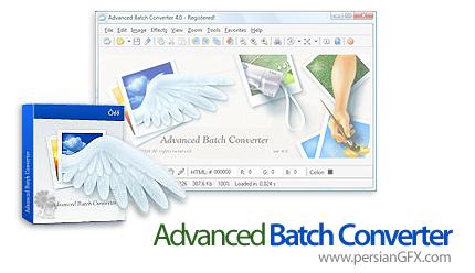 دانلود نرم افزار تبدیل فرمت تصاویر - Advanced Batch Converter 7.1