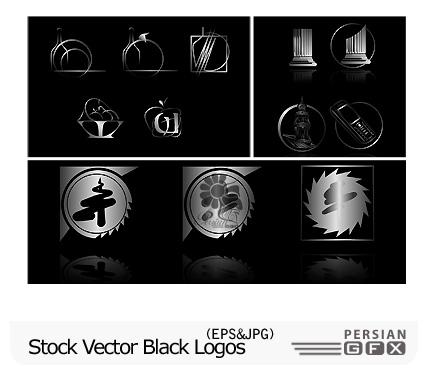 دانلود لوگو وکتور تجاری - Stock Vector Black Logos   PersianGFX ...دانلود لوگو وکتور تجاری - Stock Vector Black Logos