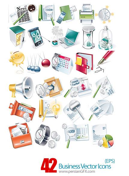 دانلود آیکون های تجاری - Business Vector Icons