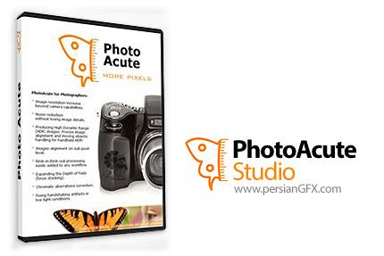 دانلود نرم افزار بالا بردن کیفیت عکس بدون در نظر گرفتن ویژگی های دوربین - PhotoAcute Studio 3.006 x86/x64