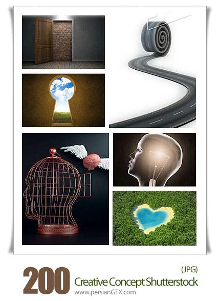 دانلود تصاویر با کیفیت هنرهای خلاقانه - Creative Concept Shutterstock