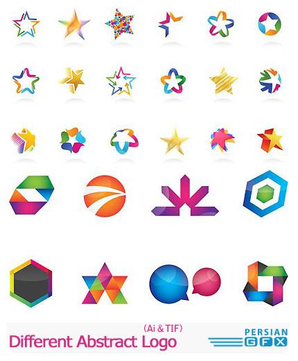 دانلود تصاویر لوگوهای متنوع انتزاعی - Different Abstract Logo