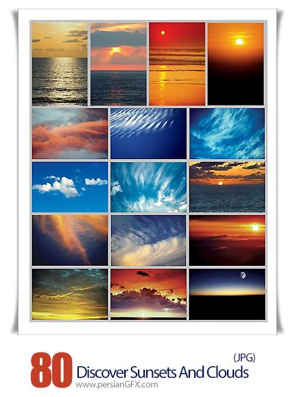 دانلود تصاویر با کیفیت غروب آفتاب - Medio Images WT21 Discover Sunsets And Clouds