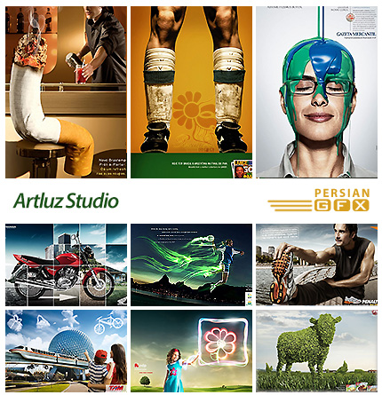 دانلود تصاویر تبلیغاتی خلاق - Artluz Studio