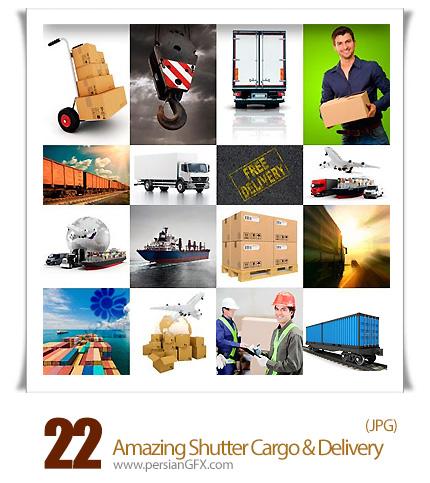 دانلود تصاویر با کیفیت بار و تحویل بار، کامیون باربری، قطار باربری از شاتر استوک - Amazing Shutter Cargo & Delivery