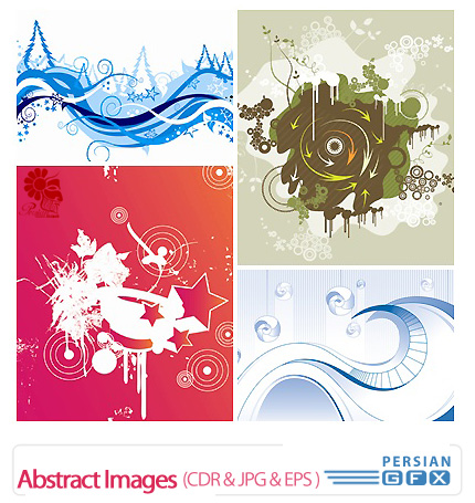 دانلود کورل تصاویر انتزاعی - Abstract Images