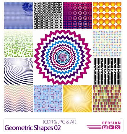 دانلود تصاویر کورل اشکال هندسی - Geometric Shapes 02