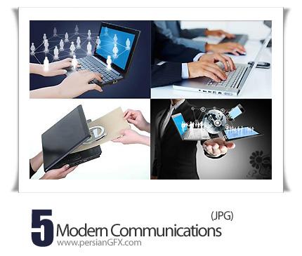 دانلود تصاویر با کیفیت ارتباطات مدرن، تکنولوژی - Modern Communications
