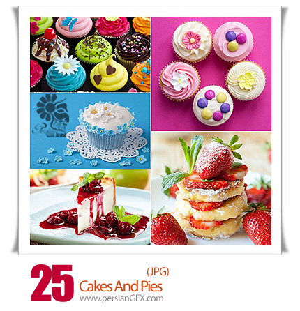 دانلود تصاویر با کیفیت کیک و پای - Cakes And Pies